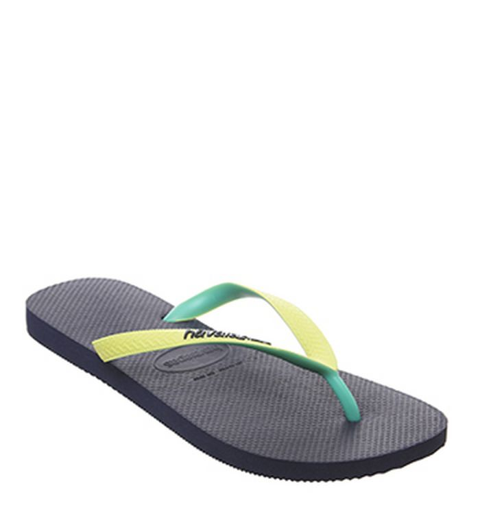 a814f3d1f Havaianas Top Stripes Flip Flops Printed Black. £17.99. Quickbuy. 26-04-2019