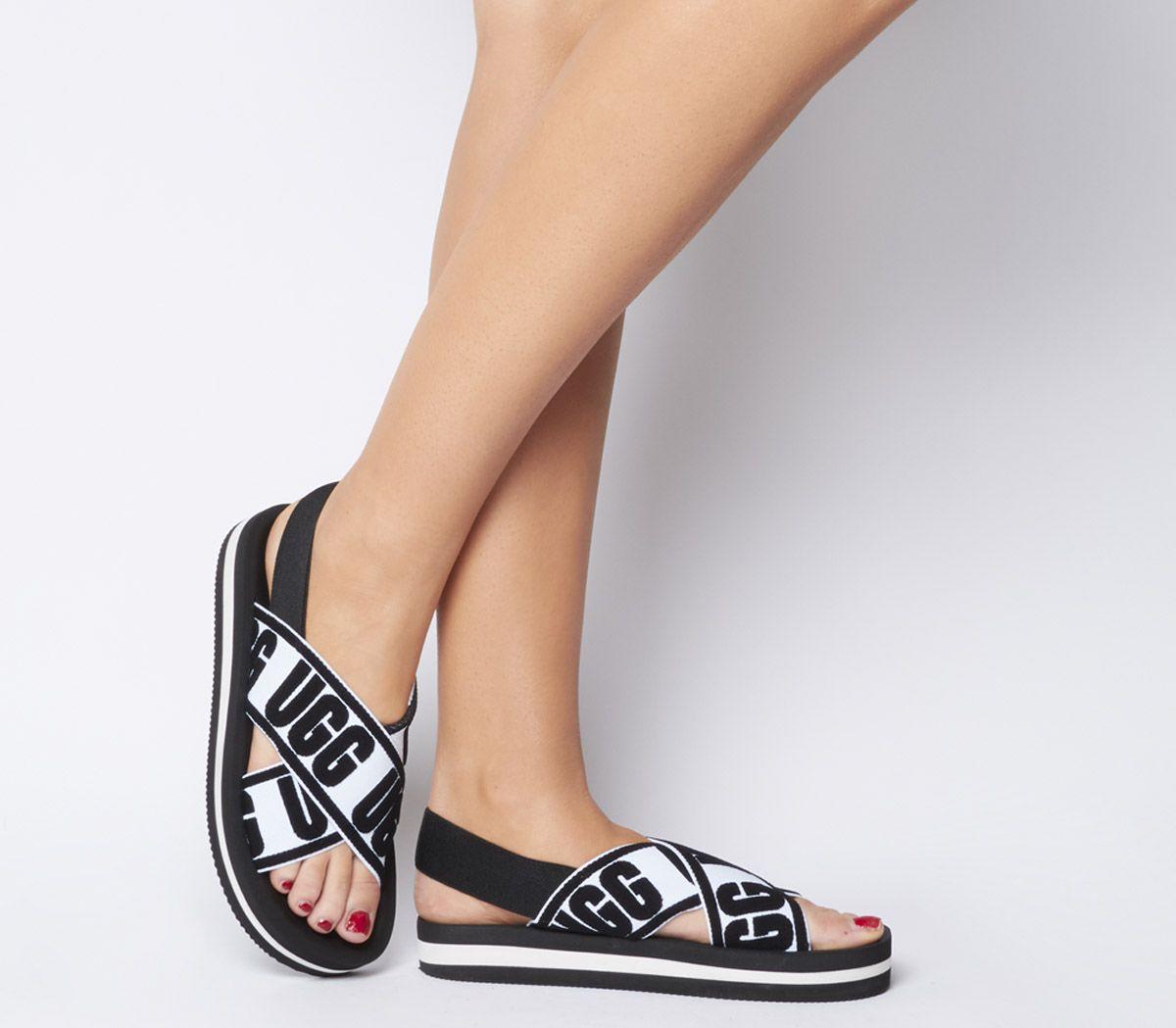 907ac474312b UGG Marmont Graphic Sandals Black - Sandals