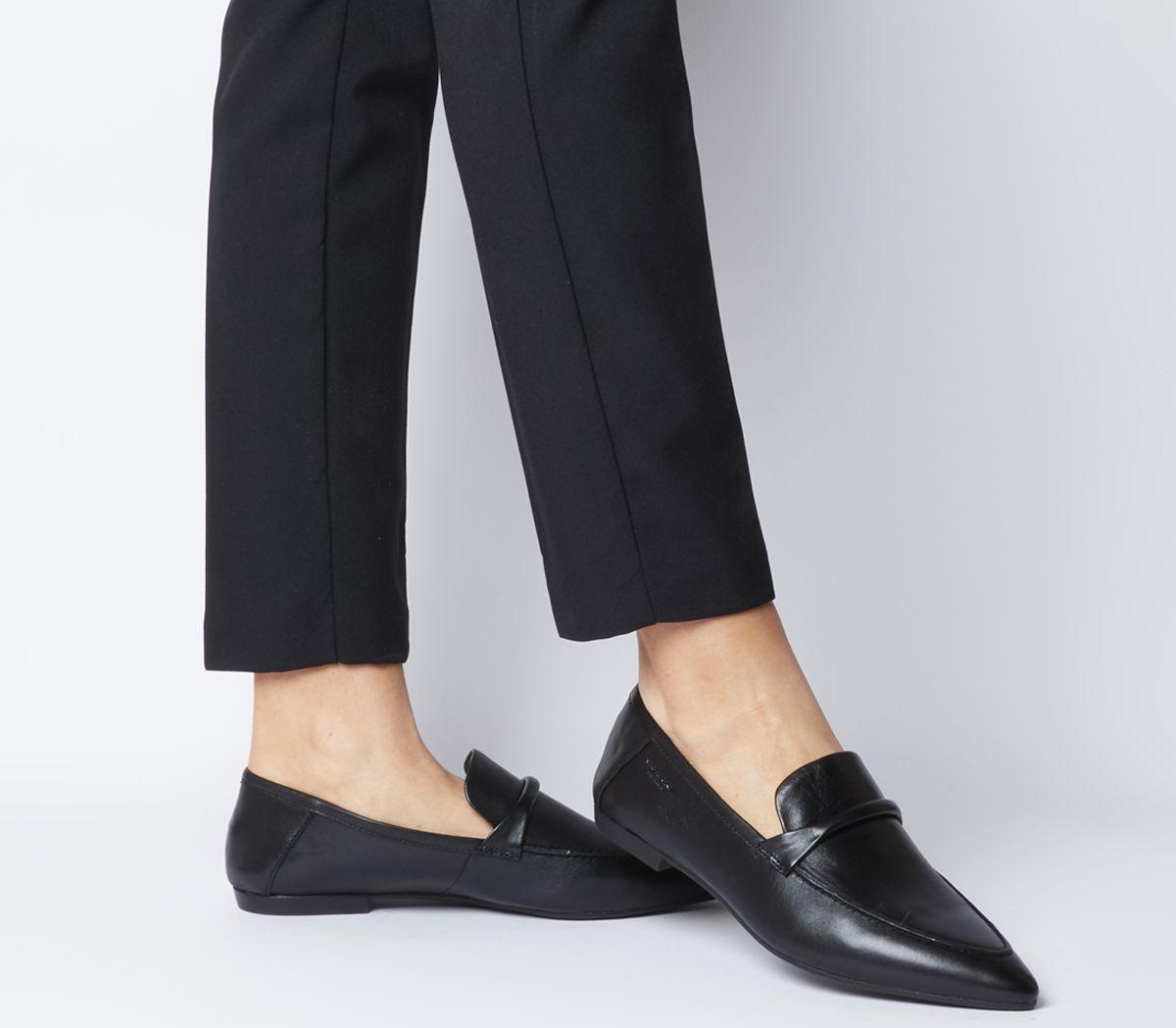 6a487f88e6f Vagabond Katlin Loafers Black Leather - Flats