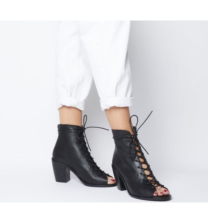 Assertive- Open Lace Front Boot