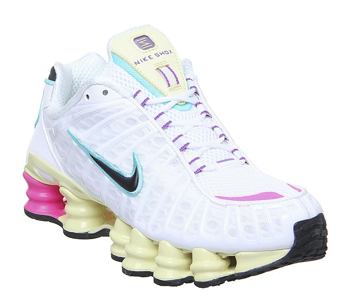 Nike Nike Shox Tl Trainers White Black