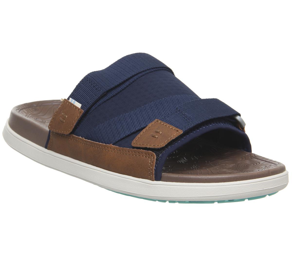 ccbc652f2e1 Toms Trvl Lite Sandals Tan Navy - Sandals