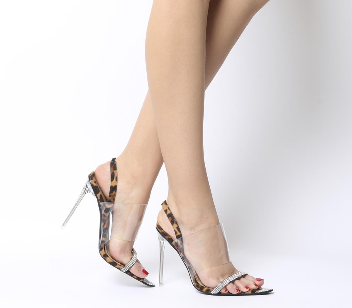 Rina Transparent Heels
