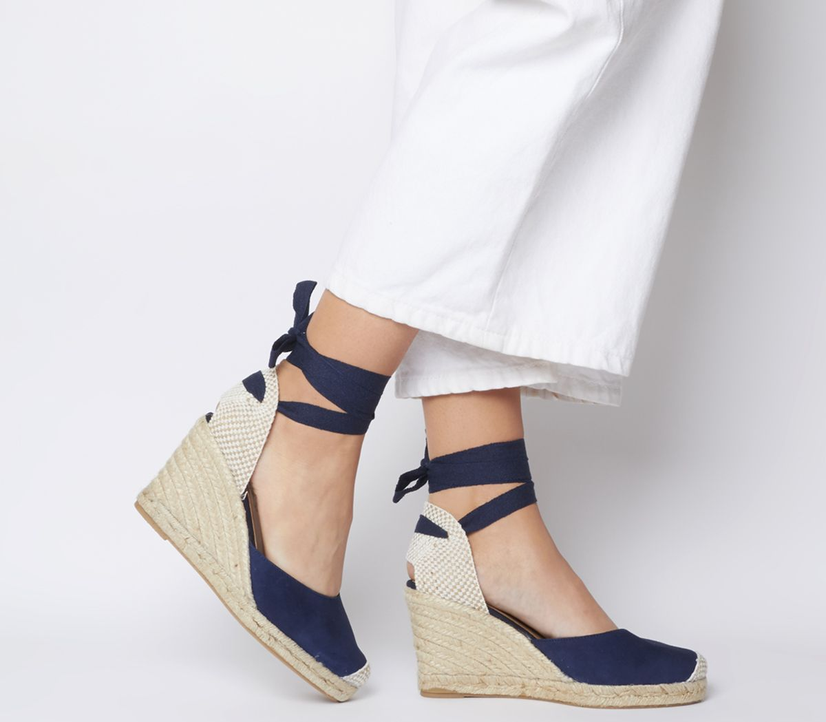 23e784752ab Marmalade Espadrille Wedges - Wide Fit