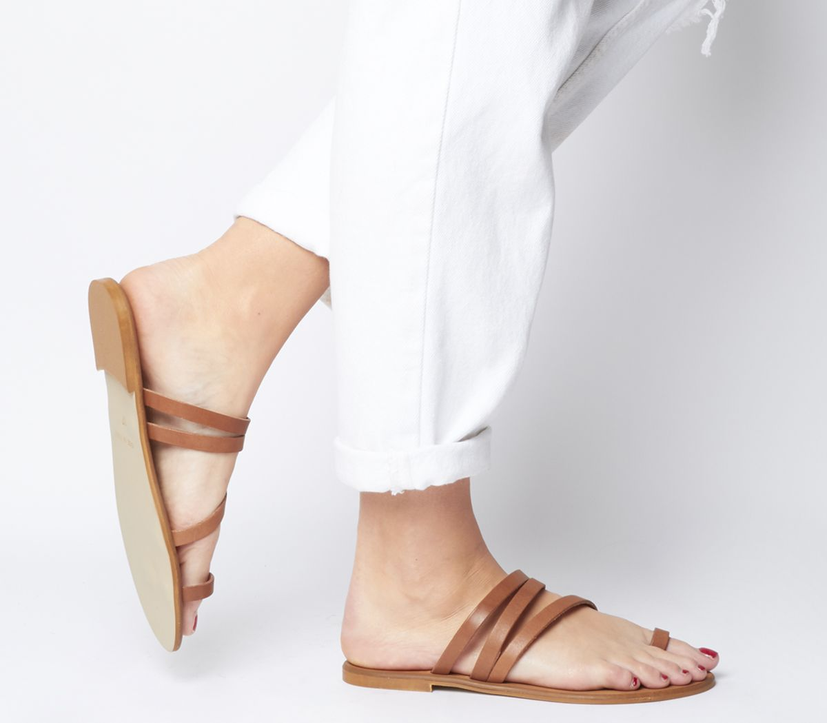 Seville Toe Loop Mules   Wide Fit by Office