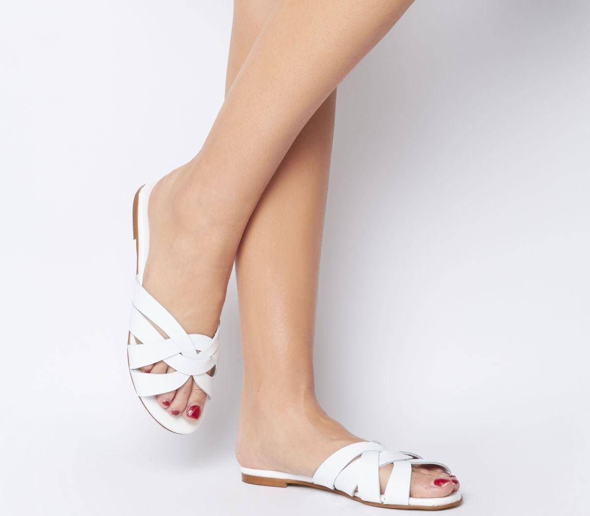 Saffron  Wf  Mule Sandal by Office