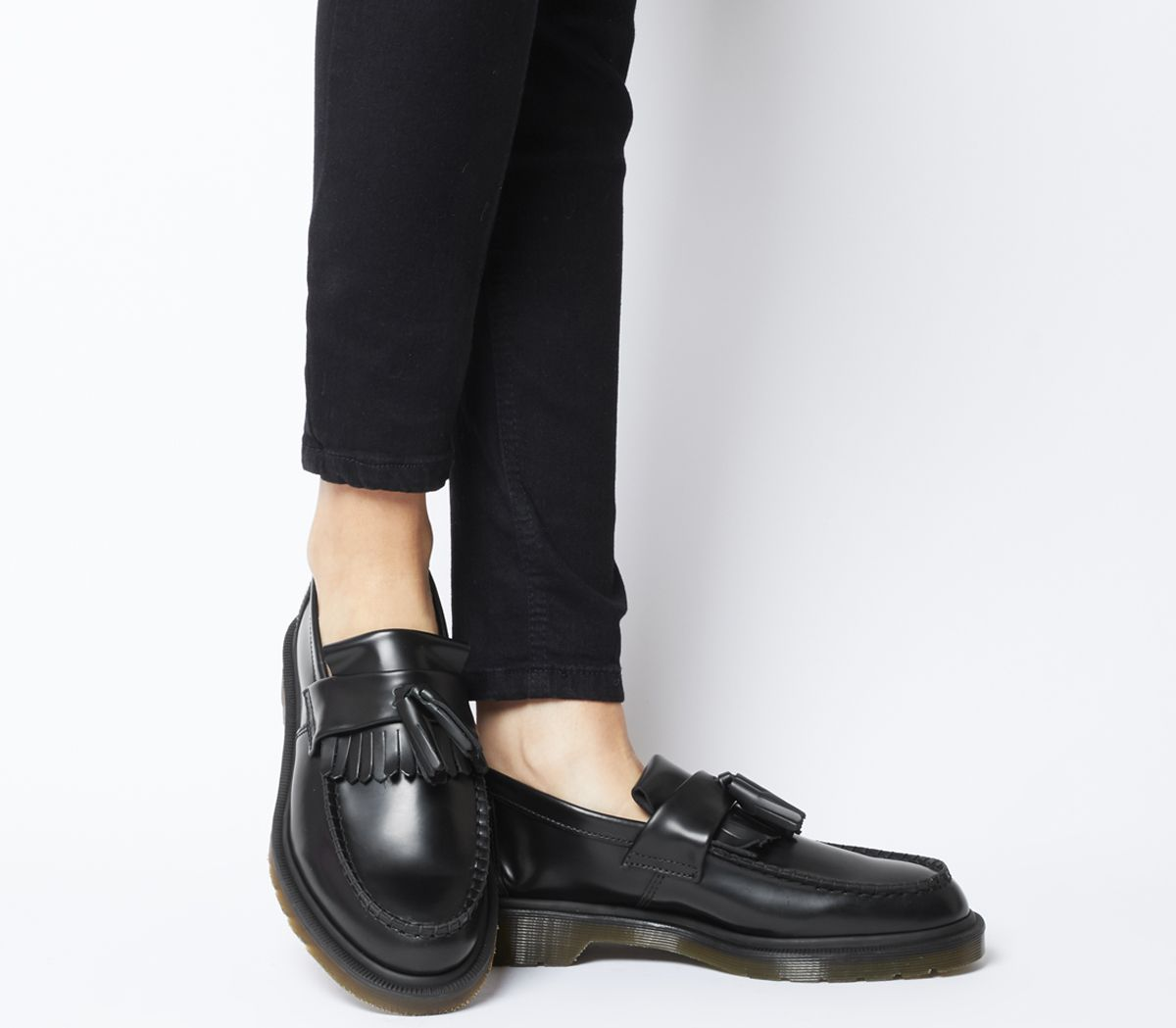 103867d5cba Dr. Martens Adrian Loafers Black Smooth - Flats