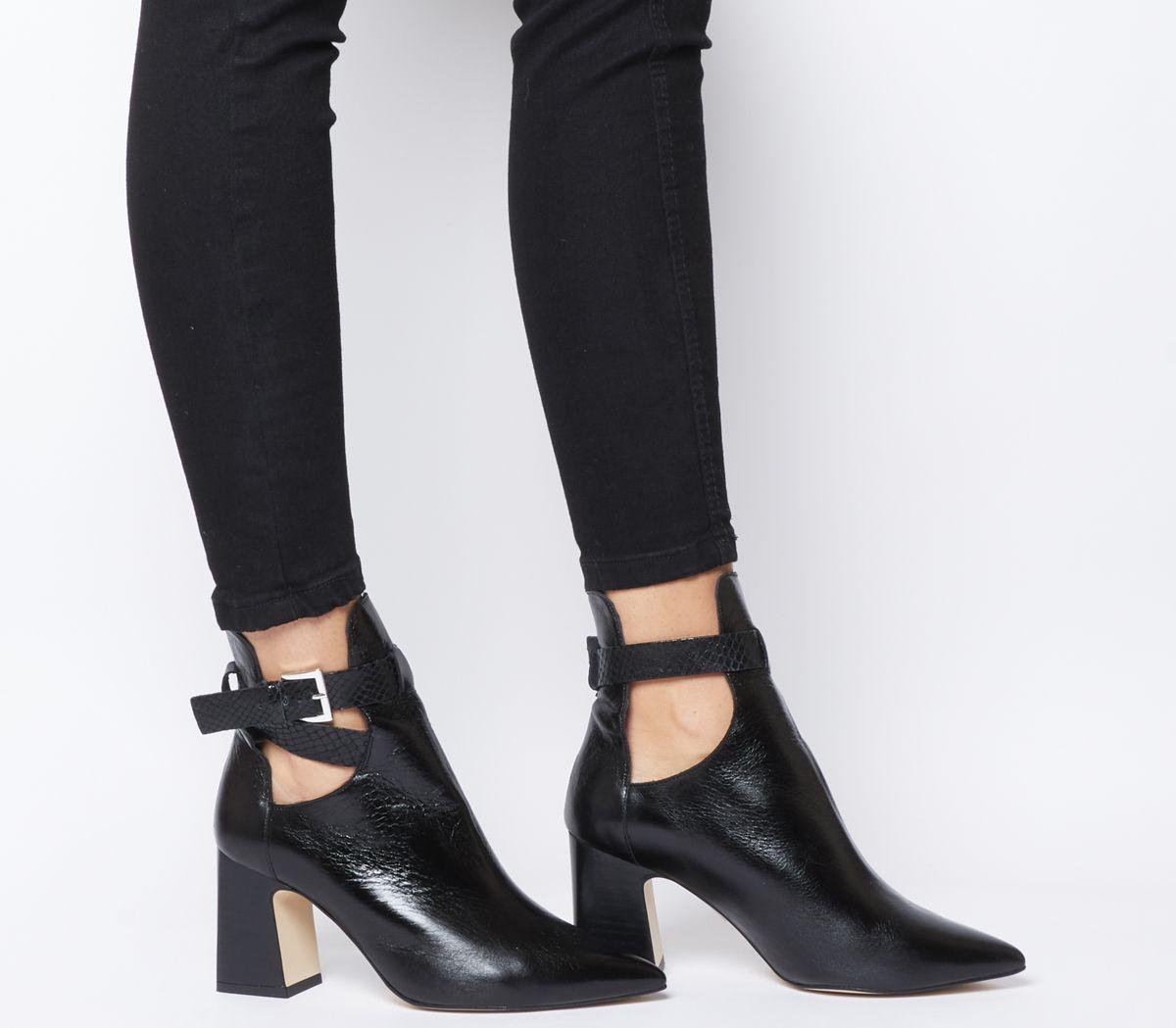 d6129abffb6 Alternative Cut Out Block Heel Boots