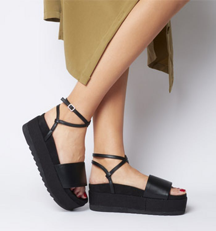 4ec1e6b50c 14-05-2019 · Office Mcentee Flatform Ankle Strap Sandals