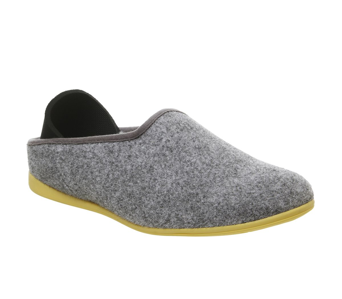 41864b81c1a1 Mahabis Mahabis Classic Slippers Larvik Light Grey Skane Yellow Sole ...