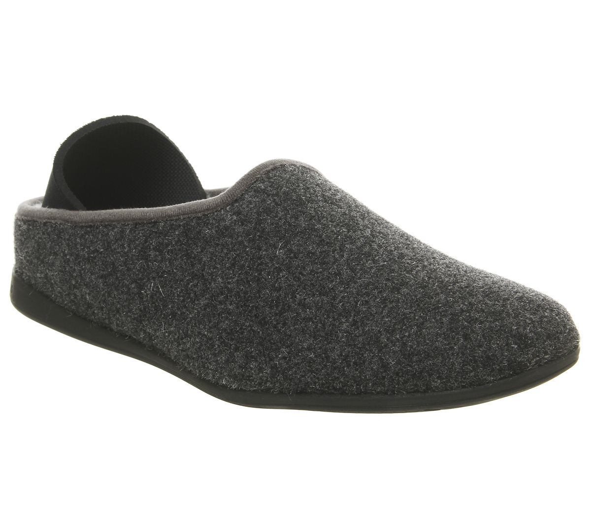 2603786d4b0 Mahabis Mahabis Classic Slippers Larvik Dark Grey Black Sole - Slippers