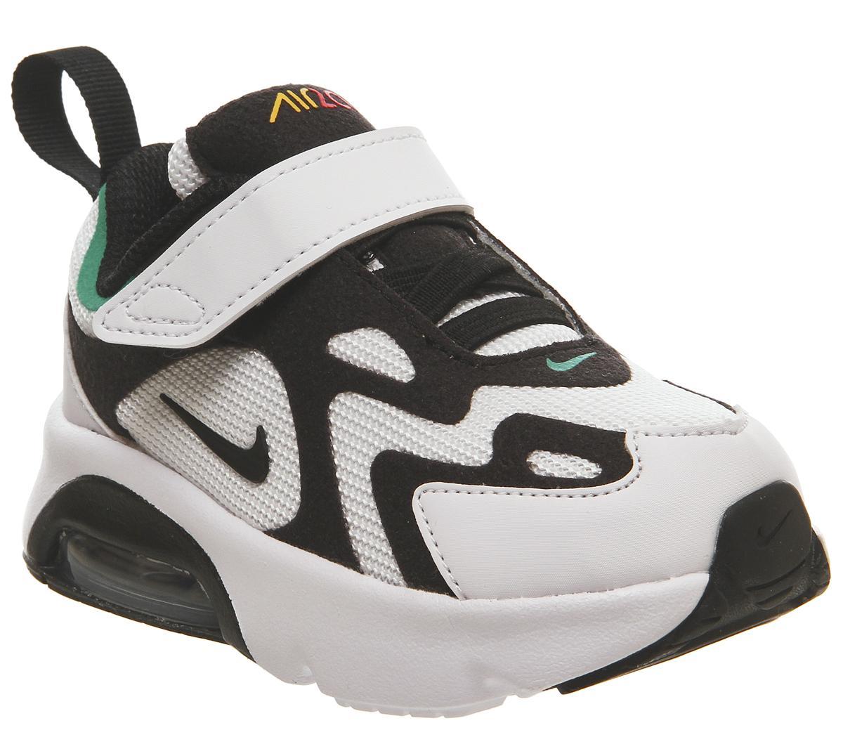 Nike Air Max 200 Sneakers WhiteBlackBright Crimson