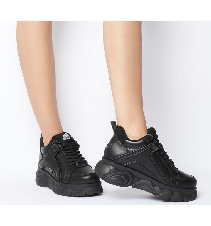 d5b3872b89da Buffalo Buffalo Classic Low Sneakers Black - Hers trainers