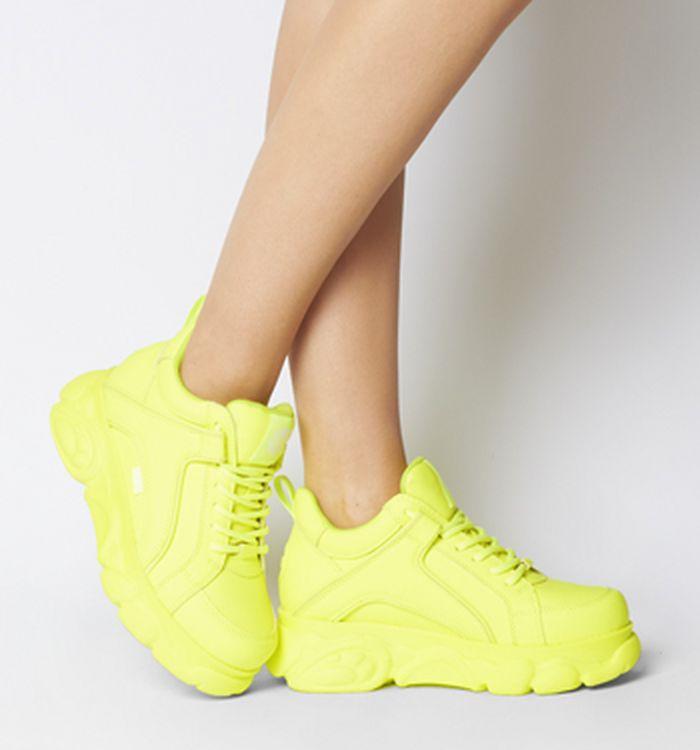 2e25ab4c 04-03-2019 · Buffalo Corin Sneakers Neon Yellow