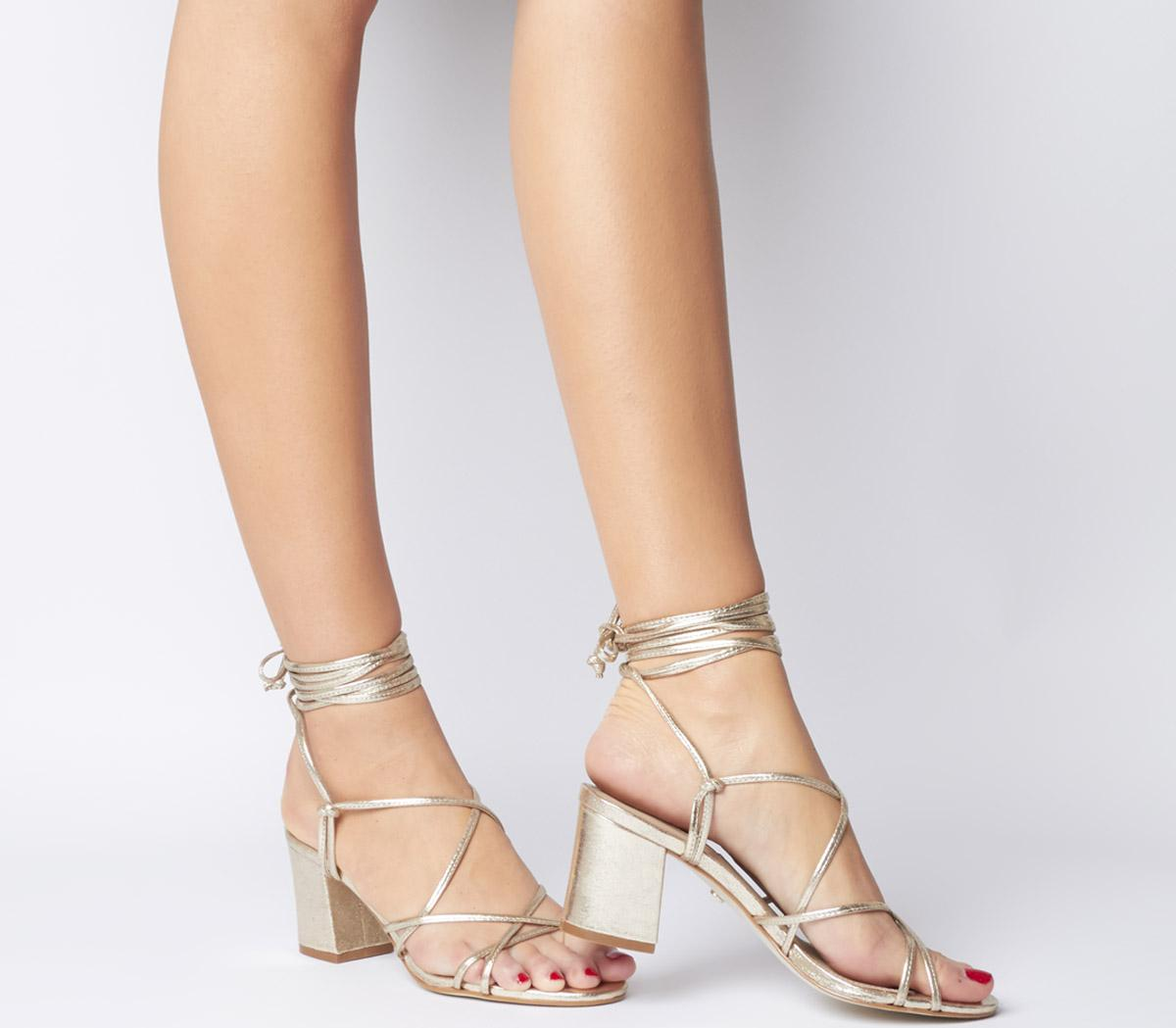 Mapletree Strappy Block Sandals