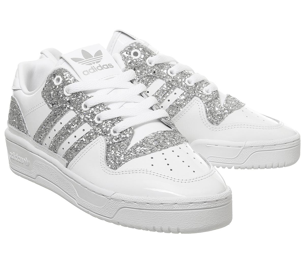 Rivalry Low Trainers Sparkle White