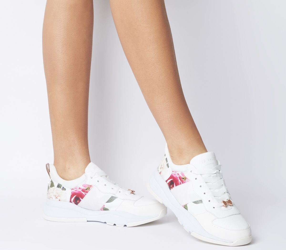 042432055f35 Ted Baker Waverdi Sneakers Magnificent White Leather - Flats