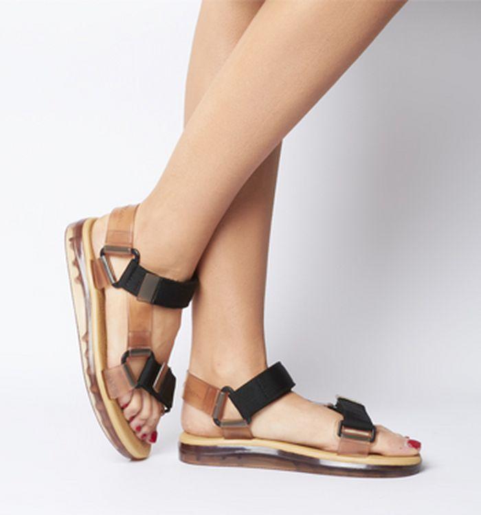 4da4f6303ab0 Melissa Rider Papete Sandals Black Matte. £74.99. Quickbuy. 29-03-2019