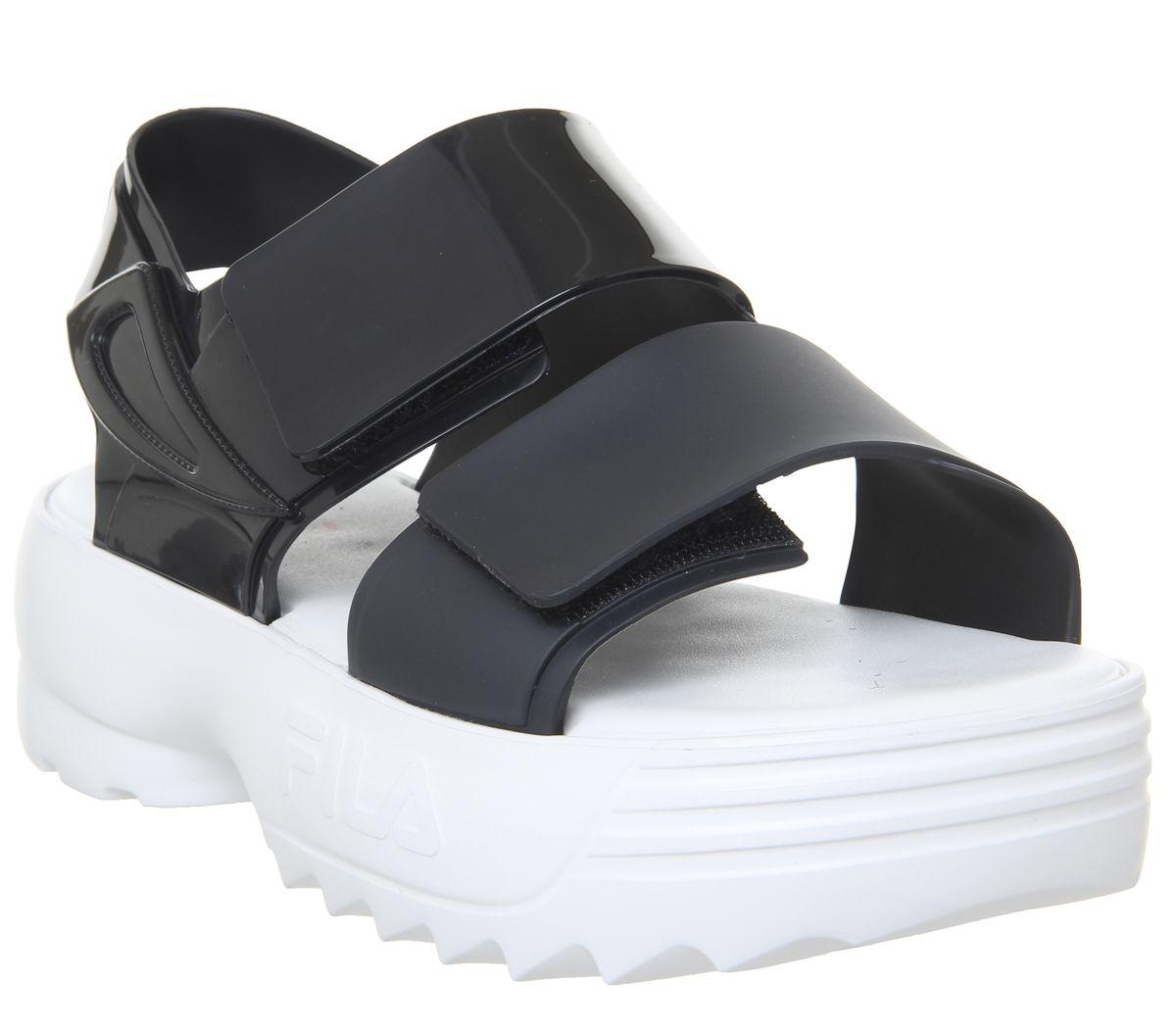 c290d9d937c3 Melissa Melissa Sandal + Fila Sandals Black - Sandals