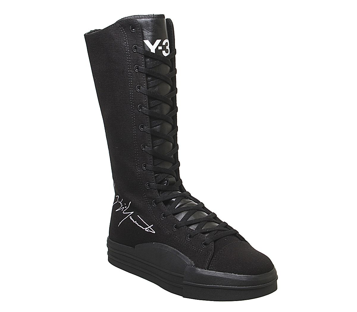 best loved cba36 21e06 adidas Y3 Y3 Yuben Boots Black Black White - Hers trainers
