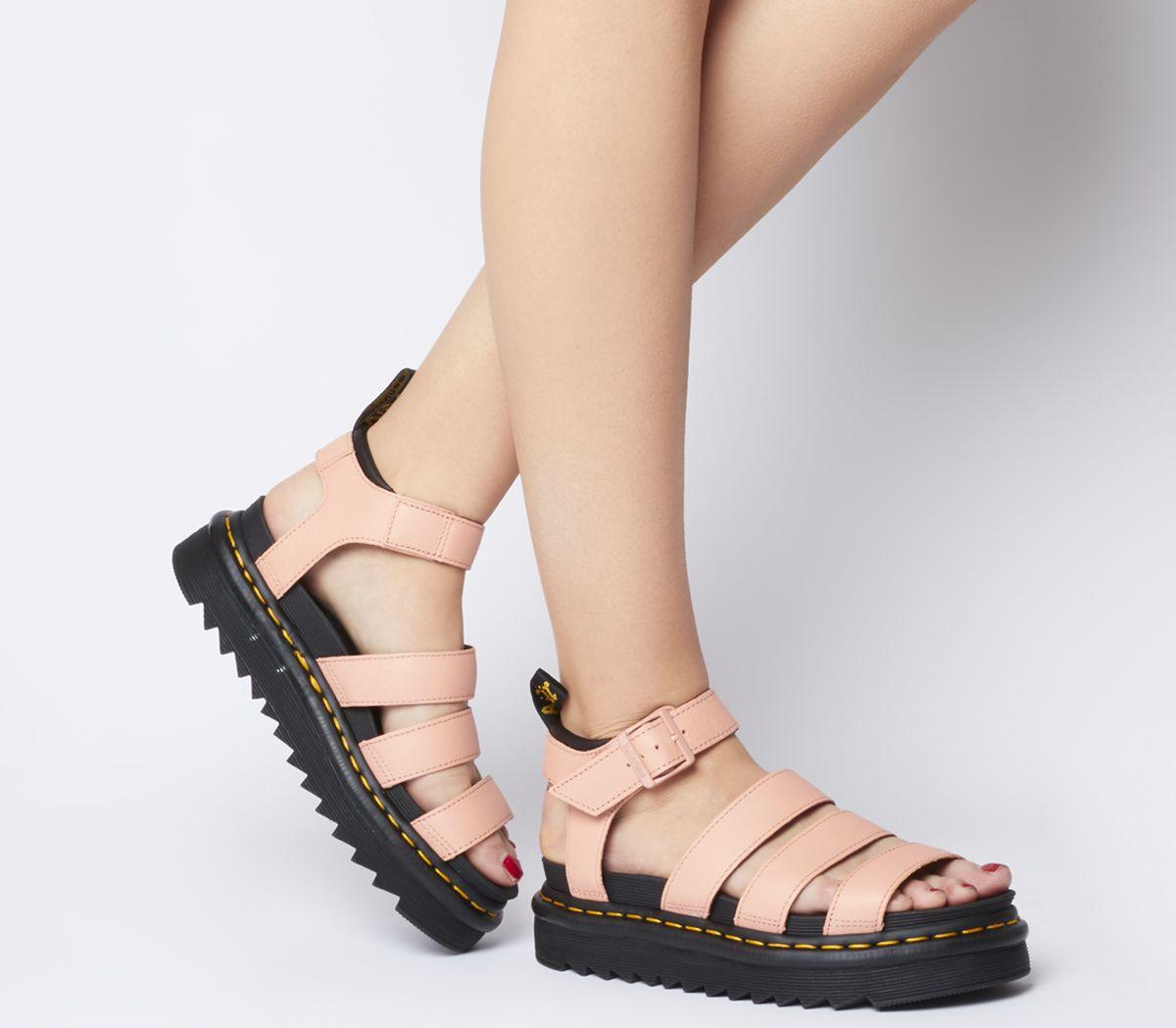 8f9da7bc Dr. Martens Blaire Sandals Salmon Pink - Sandals