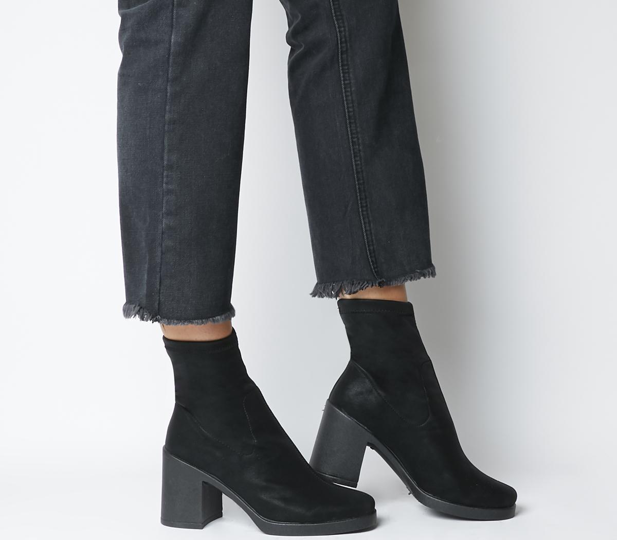Artichoke Sock Boot Square Toe Boots