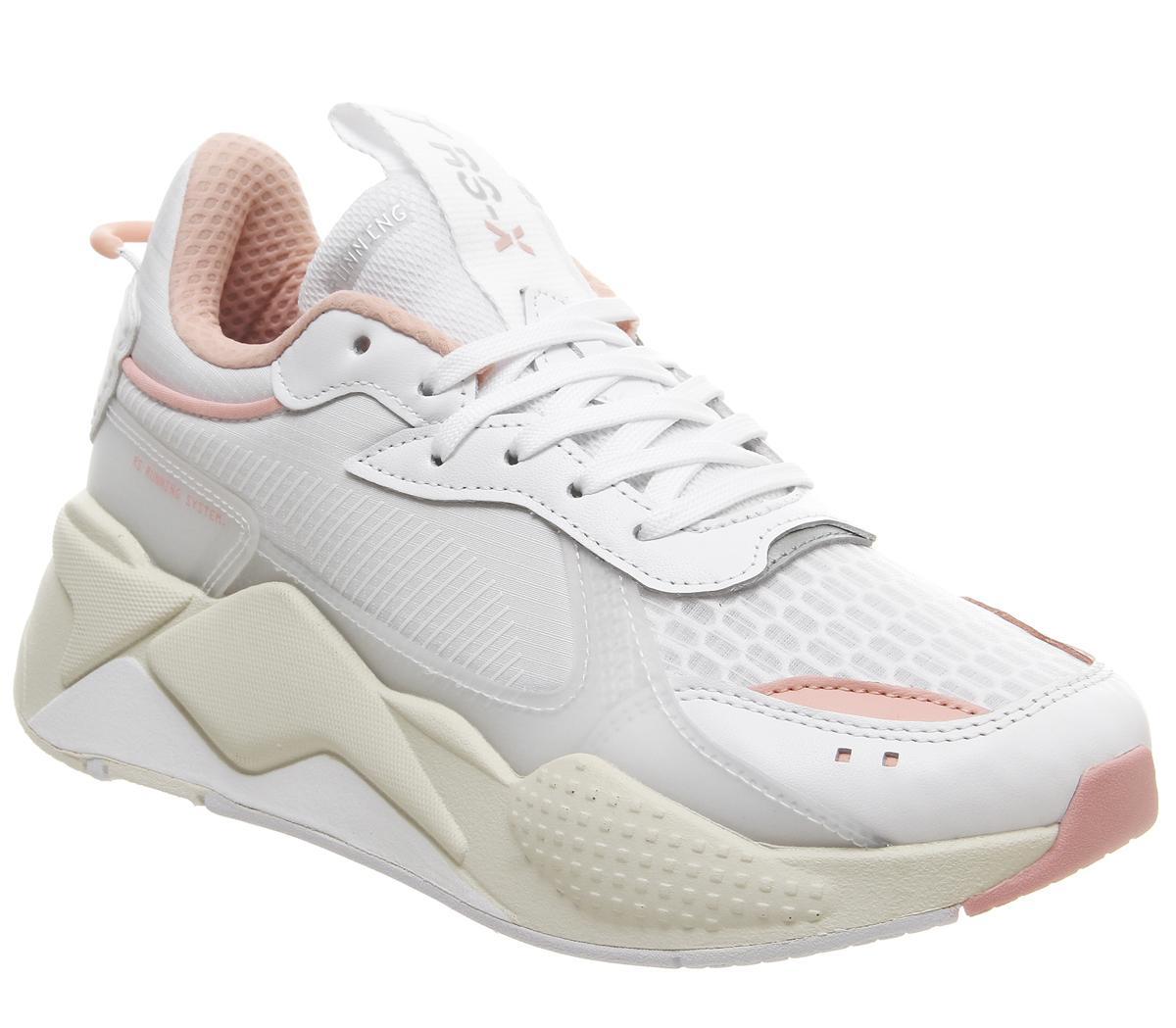 Puma Rs-x Tech Trainers White Peach - Sneaker damen