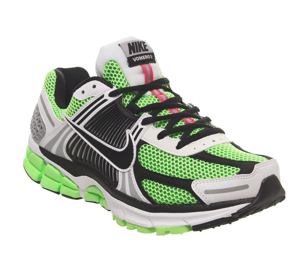 the latest d7b40 37b0b Nike, Nike Zoom Vomero 5 Se Sp Trainers, Electric Green Black White Sail