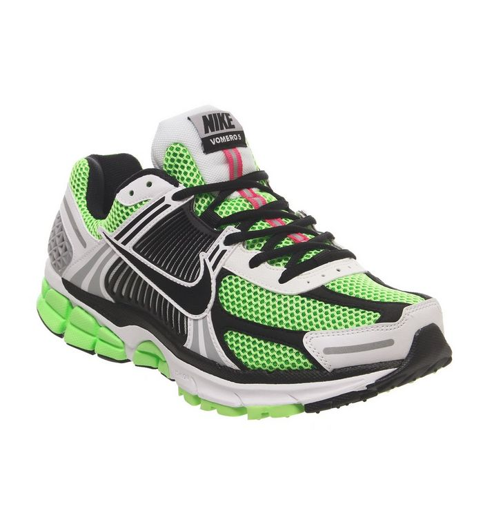 low priced e6fb4 4ce26 ... Nike, Nike Zoom Vomero 5 Se Sp Trainers, Electric Green Black White  Sail ...