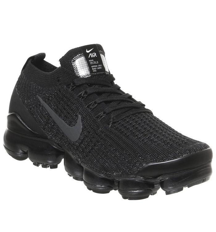 Nike Vapormax Nike Vapormax Air Vapormax Fk 3 BLACK ANTHRACITE WHITE METALLIC SILVER F