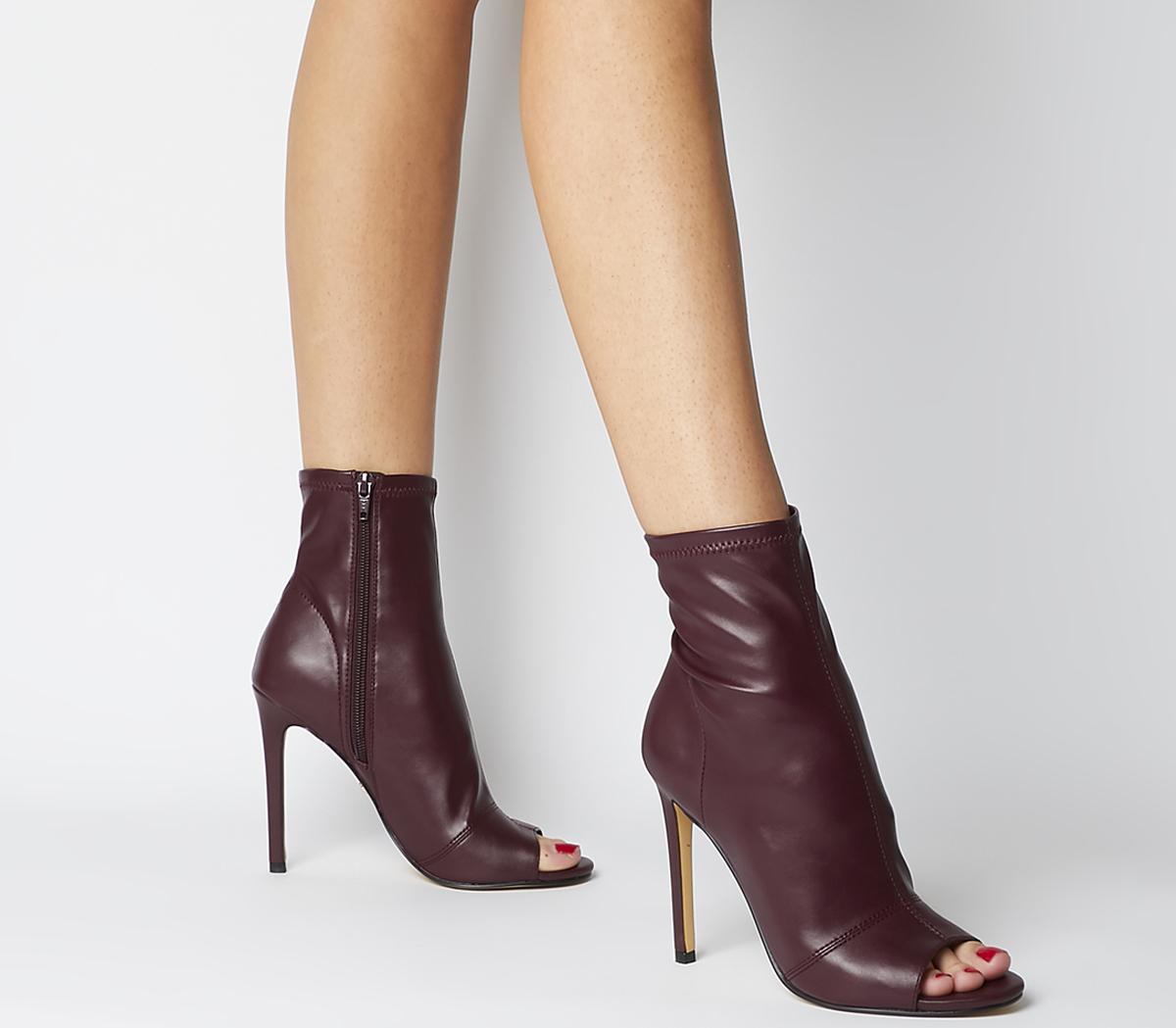 Aware Dressy Peep Toe Boots