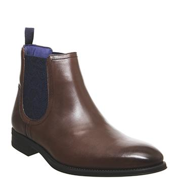 Men's Chelsea Boots   Black & Brown Leather Boots   OFFICE