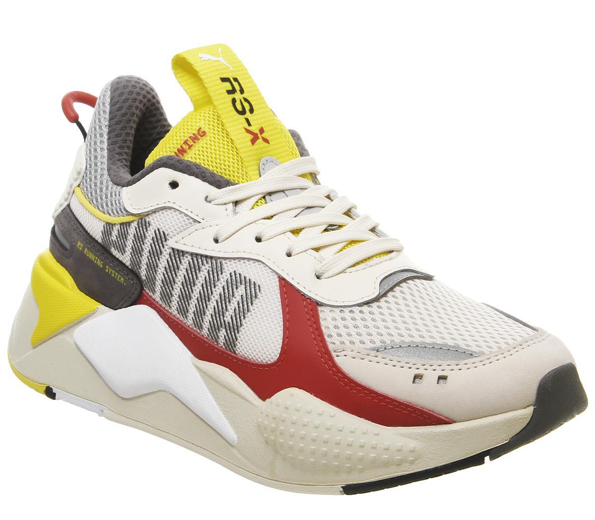 Puma Rs-x Bold Trainers Whisper White High Rise Red Blazing ...