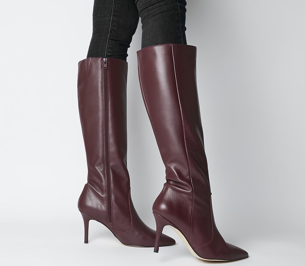Keep Up Stiletto Knee Boots