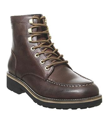 M.T.C.R Timberland Men's 6 Inch Boot Brown