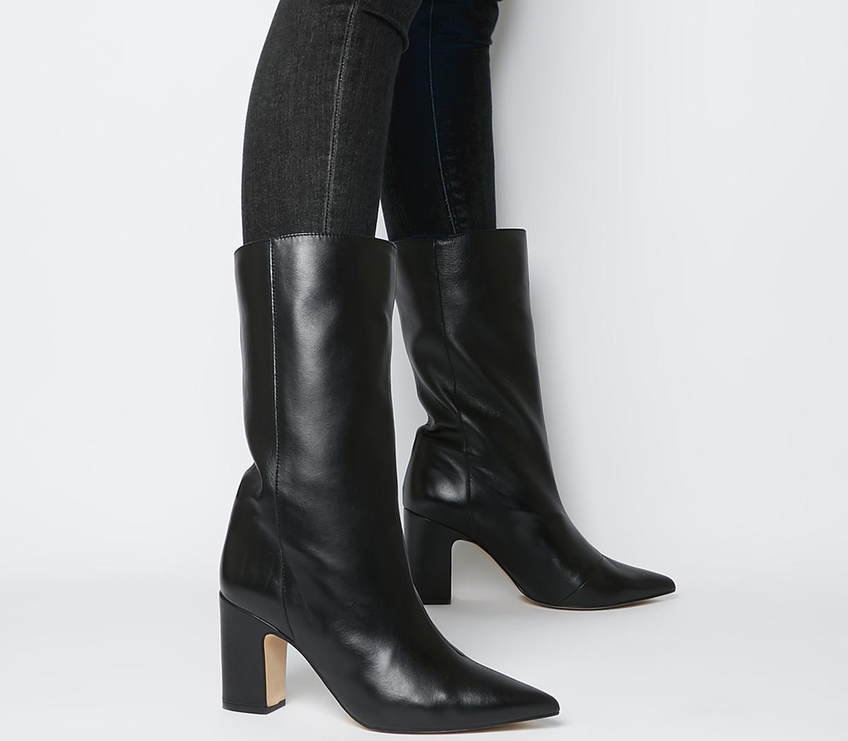 Karma Calf Block Heel Boots