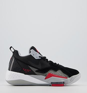 Jordan Nike Kids Air Dub Zero GS Black//White//Clssc CHRCL//WLF Gry Basketball Shoe 5.5 Kids US
