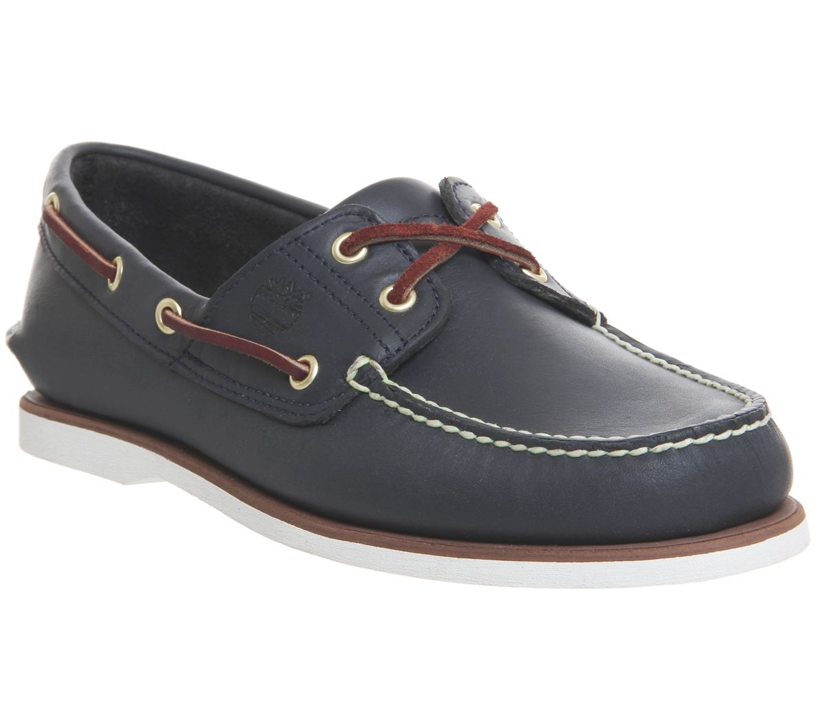 7f9e150c7a03 Timberland New Boat Shoes Navy Leather - Casual