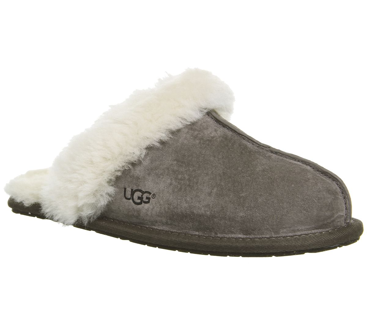 148100378e56 UGG Scuffette II Stormy Grey - Flats
