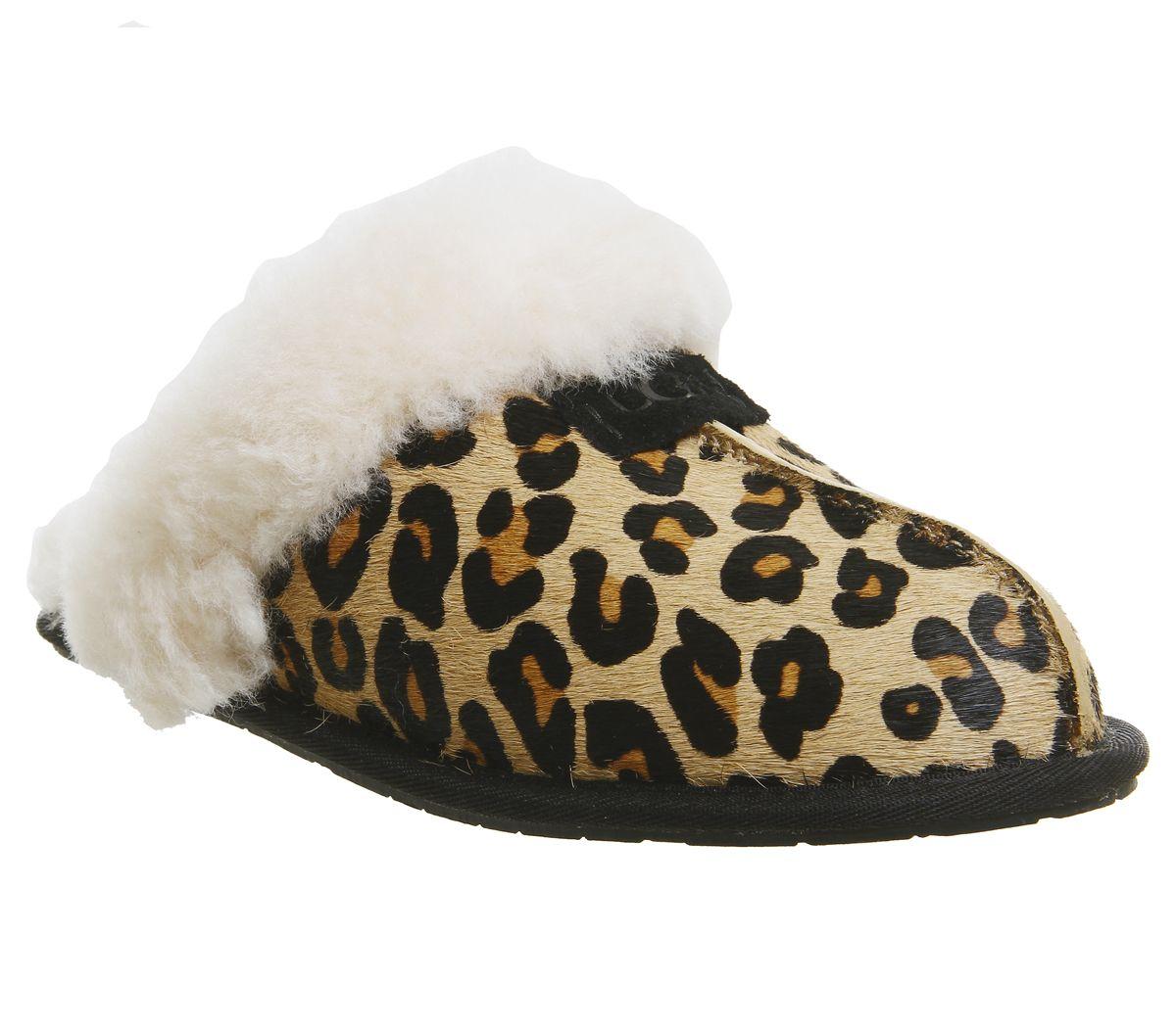 383d7d137f52 UGG Scuffette Ii Slippers Leopard Exclusive - Flats
