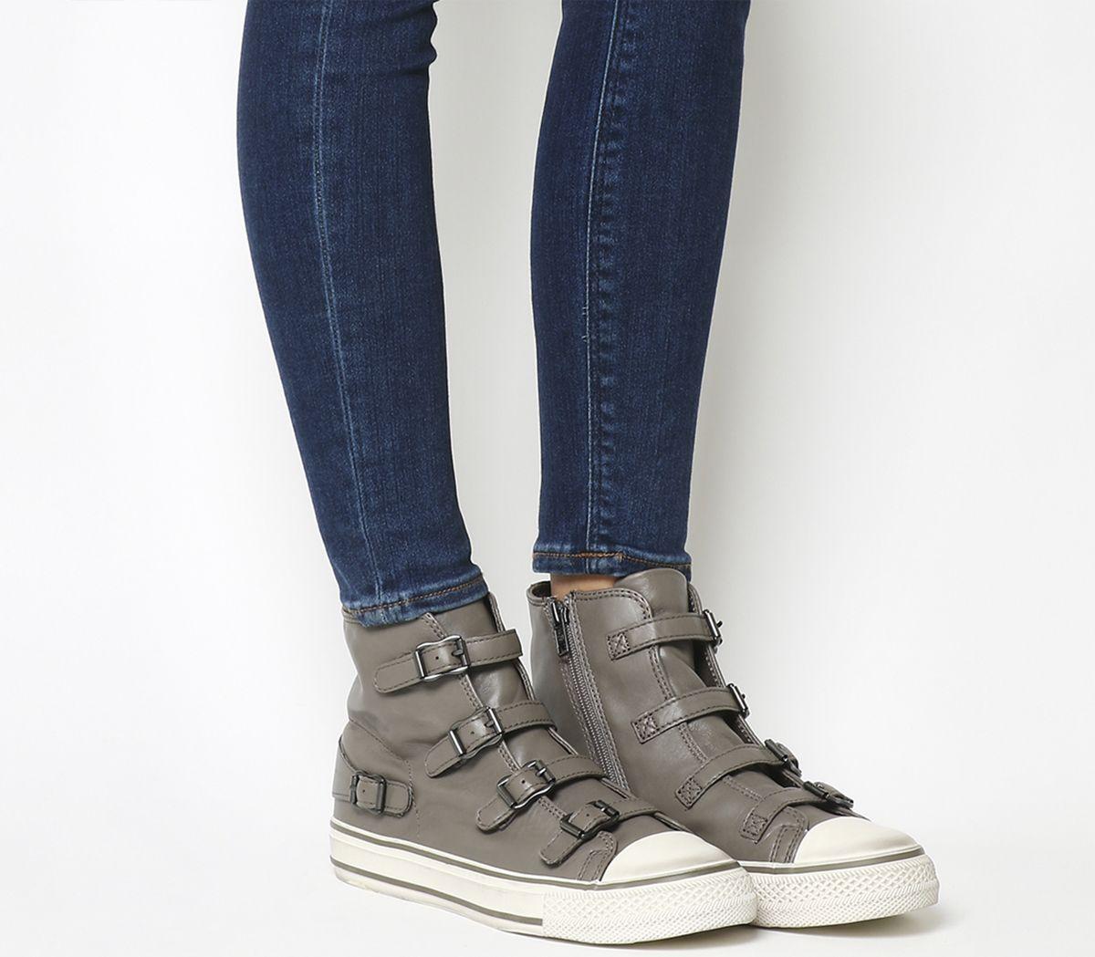 204b520af9 Ash Virgin High Top Perkish Nappa Wax - Ankle Boots