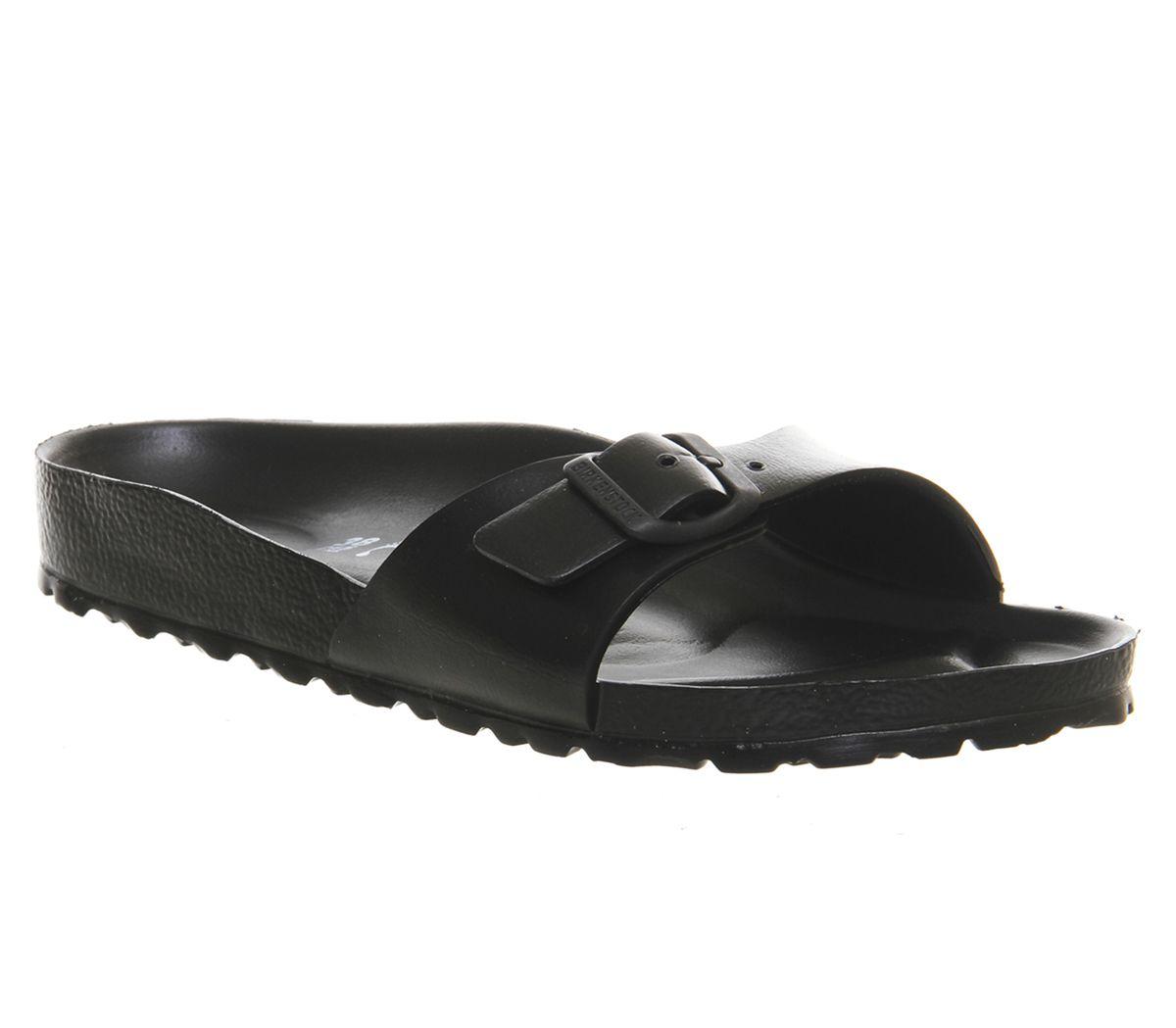 02c75b486 Birkenstock Madrid 1 Bar Mule Black Eva - Sandals