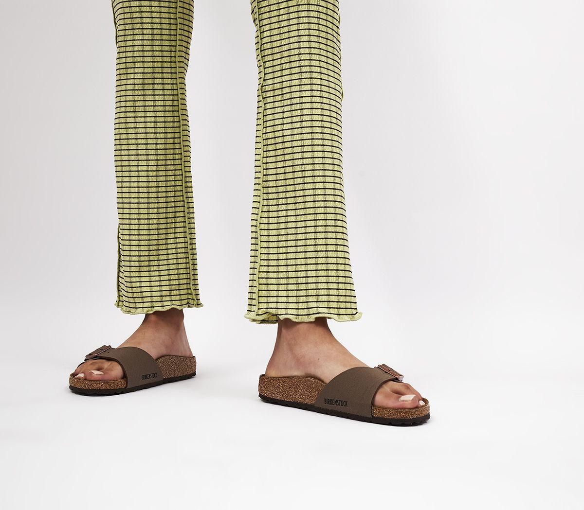 f13ad050461 Birkenstock Madrid 1 Bar Mules Mocha - Sandals