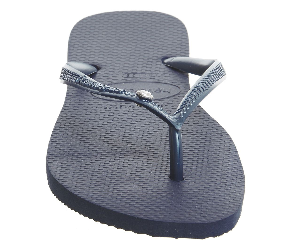7917705b4 Havaianas Slim Crystal Glamour Navy Rubber - Sandals