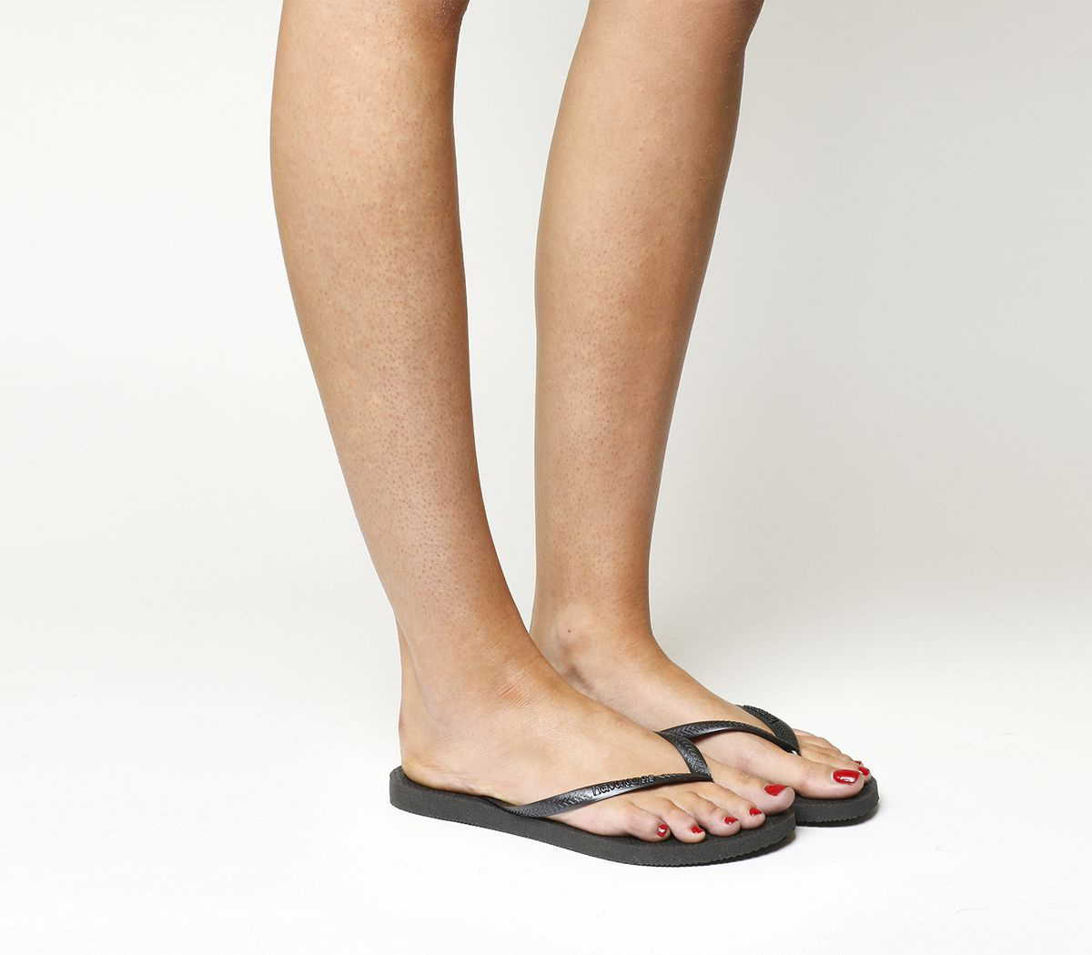 323dacef5 Havaianas Slim Flip Flop Black - Sandals