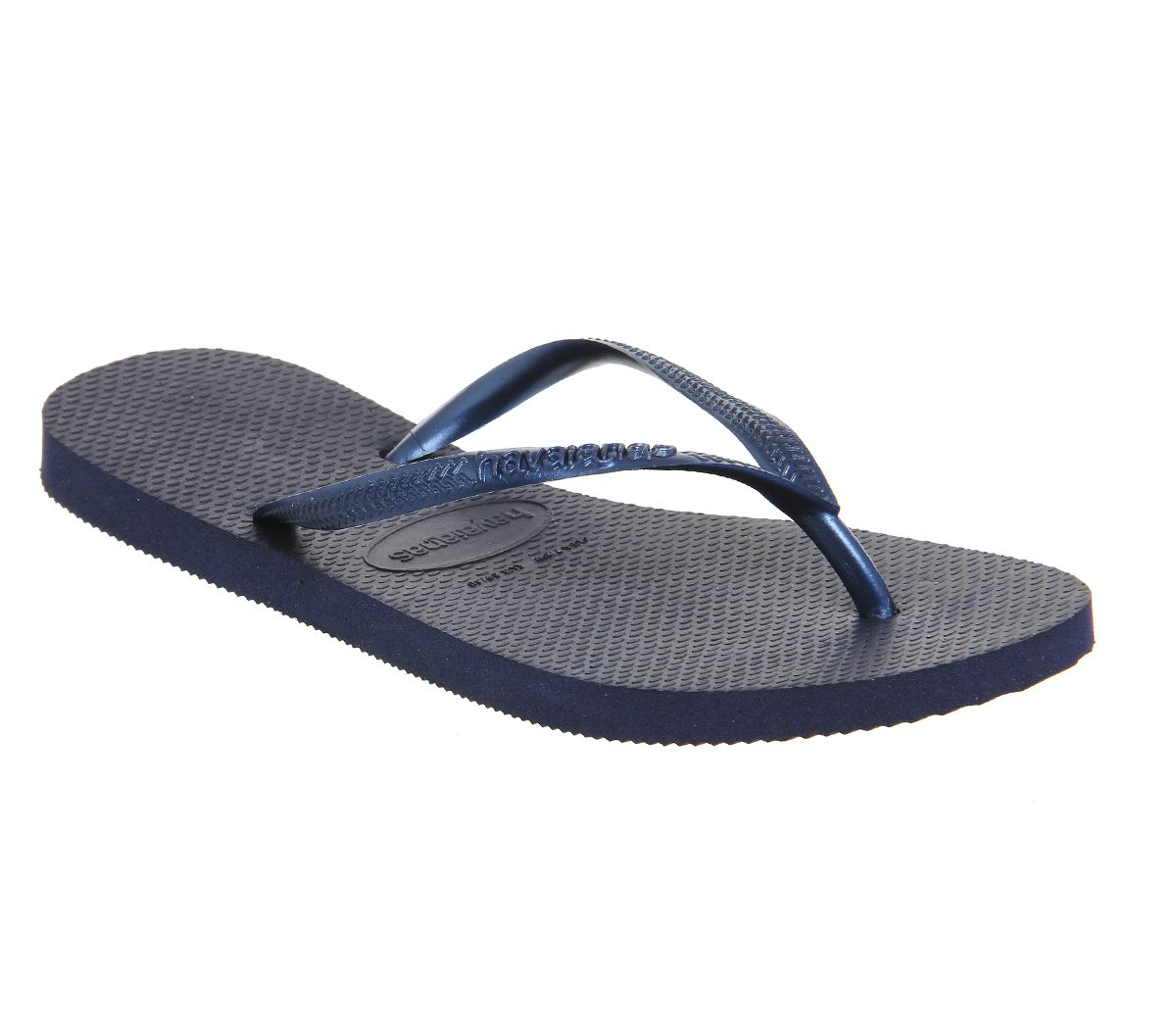c8bb2231ba05 Havaianas Slim Flip Flop Navy Rubber - Sandals