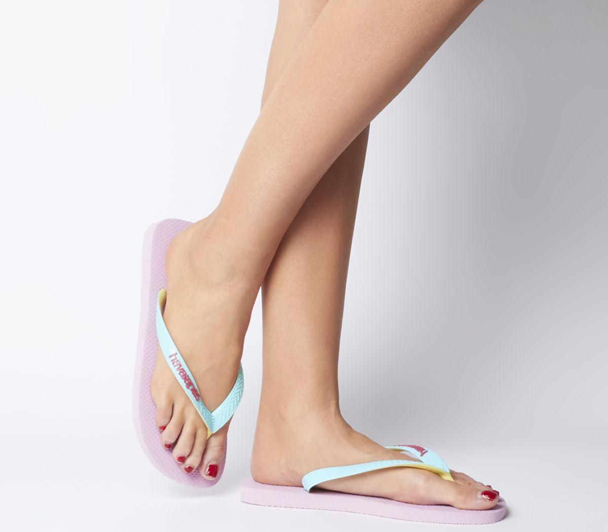 d32aa3740 Havaianas Top Mix Flip Flops Rose Quartz Ice Blue - Sandals