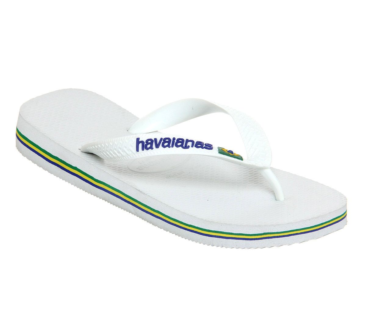 90968ee60607 Havaianas Brasil Logo White - Sandals