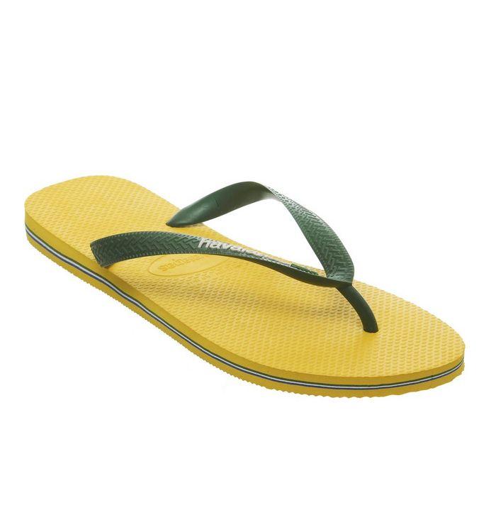 9cd3dcb56b80 Havaianas Brasil Logo White - Sandals