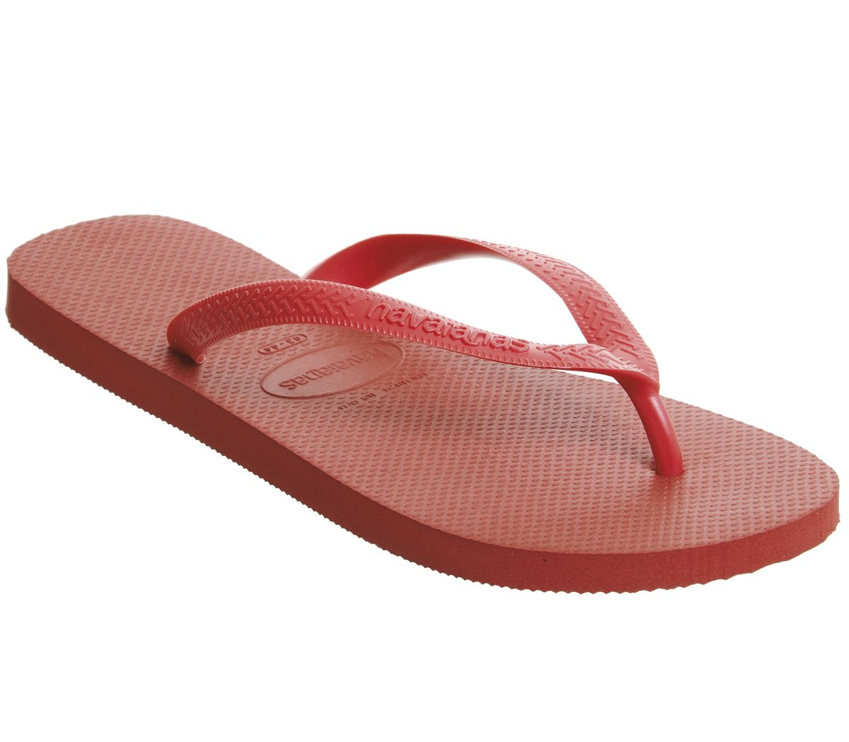43a55adc38d Havaianas Top Flip Flops Ruby Red - Sandals
